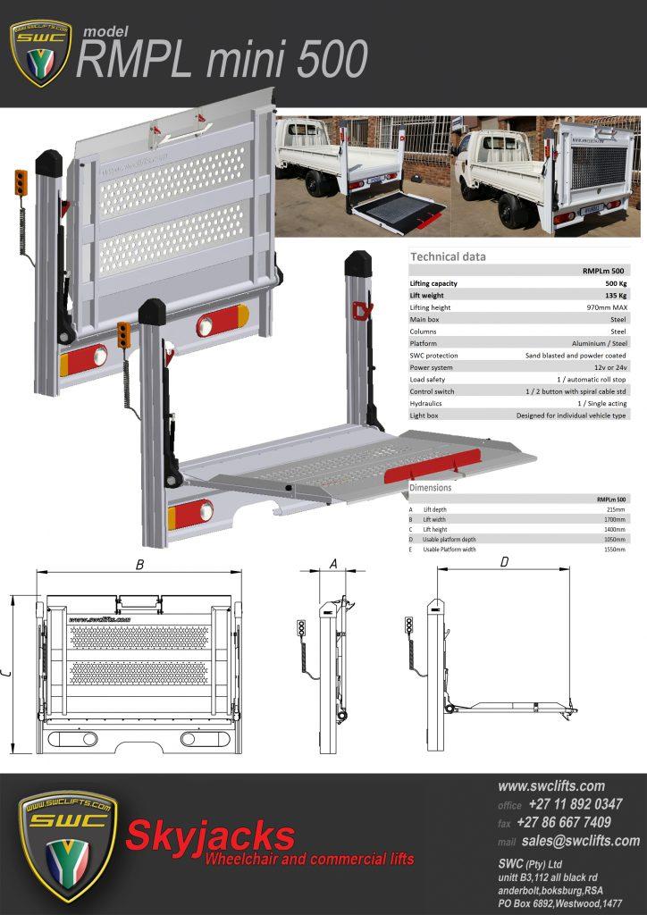 RMPL mini 500 - Brochure